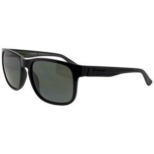 38c46bde37a TB9087-01D-57 Men s Black Frame Grey Sunglasses